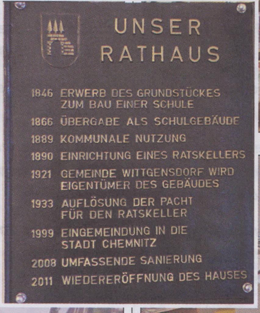 Rathaustafel